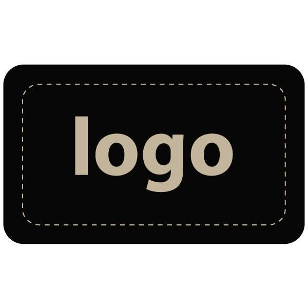 Etiquettes adhésives 005 - Rectangulaire Noir 32 x 19