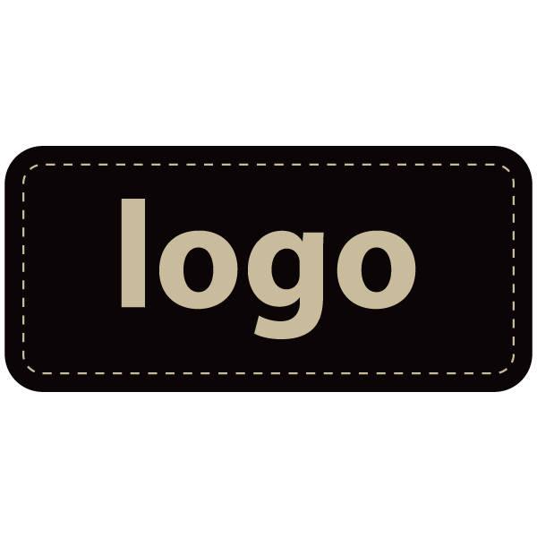 Etiquettes adhésives 006 - Rectangulaire Noir 30 x 14