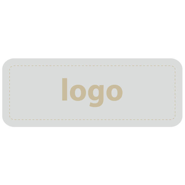 Etiquettes adhésives 012 - Rectangulaire Argent 50 x 19