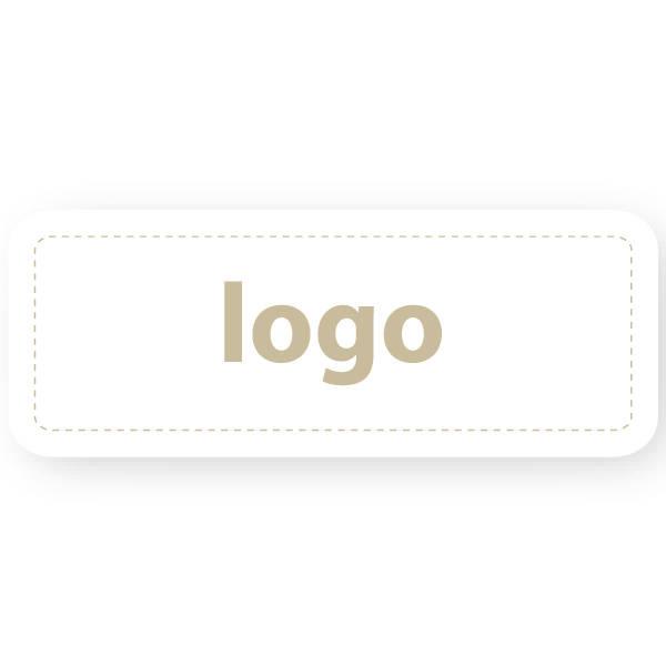 Etiquettes adhésives 012 - Rectangulaire Blanc 50 x 19