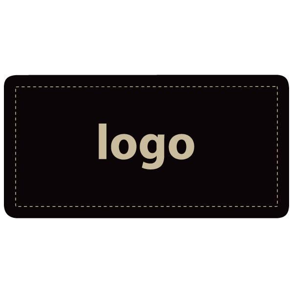 Etiquettes adhésives 016 - Rectangulaire Noir 50 x 25