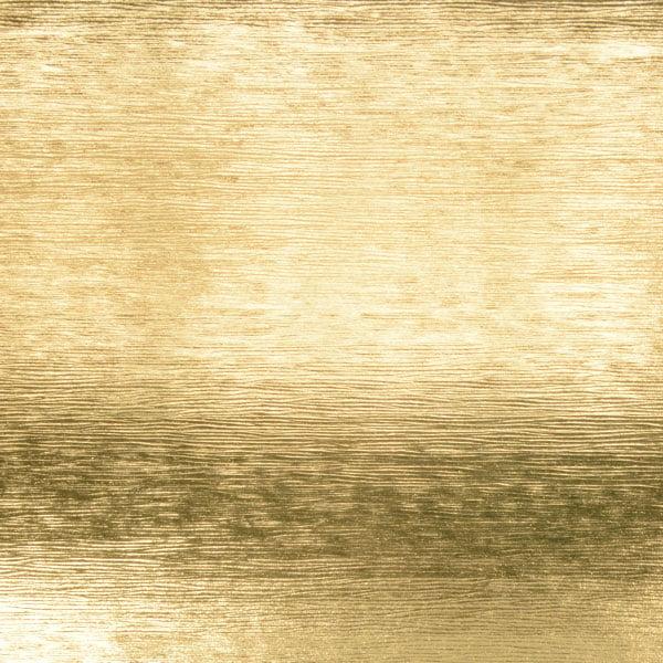 Papier cadeau nº 9911 Or métallique avec texture rayée  20 cm - 100 m