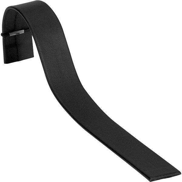 Display voor Smalle Armband, liggend Zwart Nappa 175 x 20