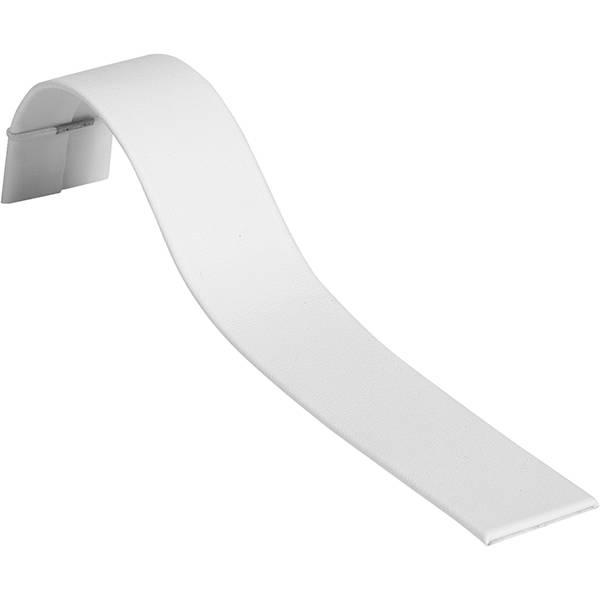 Display voor Brede Armband, liggend Wit Nappa 175 x 25
