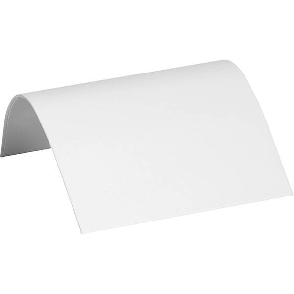 Display voor Colliers, medium Wit Nappa 110 x 85