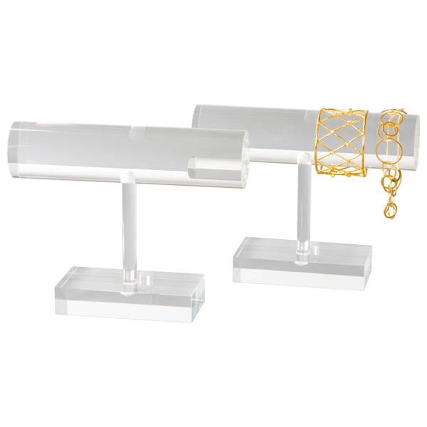 T-vormige Display voor Armbanden Transparant acryl 200 x 155