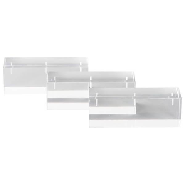 Display Multiblok, groot Transparant acryl 40 x 120 x 40