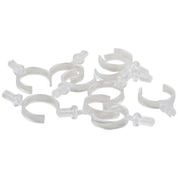 Losse Klemmetjes voor Ringenhouders Transparant acryl 21 x 28