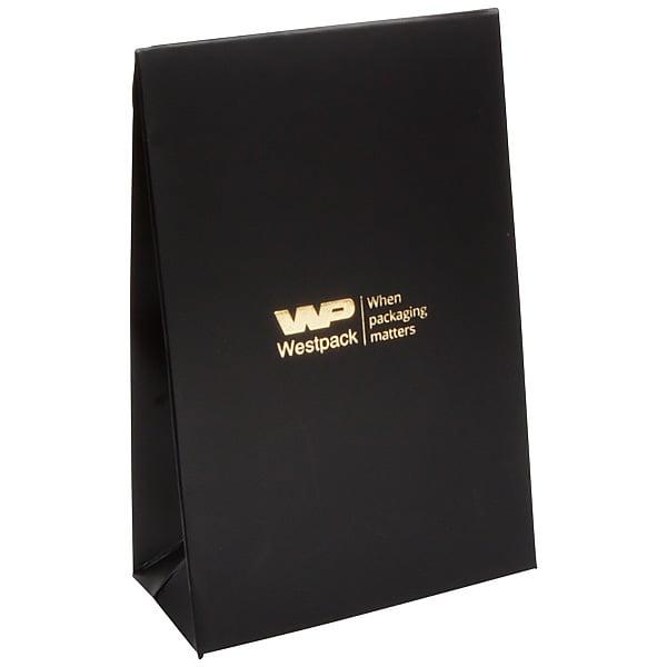 Mat cadeauzakje, klein Zwart 90 x 135 x 45