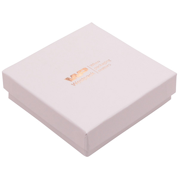 Achat en gros: Santiago écrin bracelet/ pendentif Carton rose clair / Intérieur mousse blanche 86 x 86 x 26
