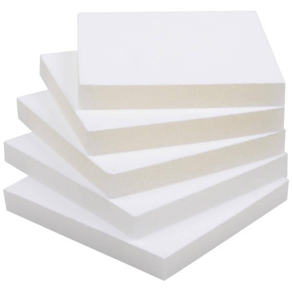 Grootverpakking: Foam insert voor armringdoosje Wit 81 x 81 x 10 0 027 006 / 0 018 006