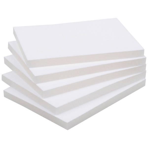 Grootverpakking: Foam insert voor sieradenset Wit 103 x 75 x 15 0 018 012