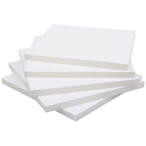 Grootverpakking: Foam insert voor collierdoosje Wit 163 x 163 x 10 0 027 014 / 0 018 014
