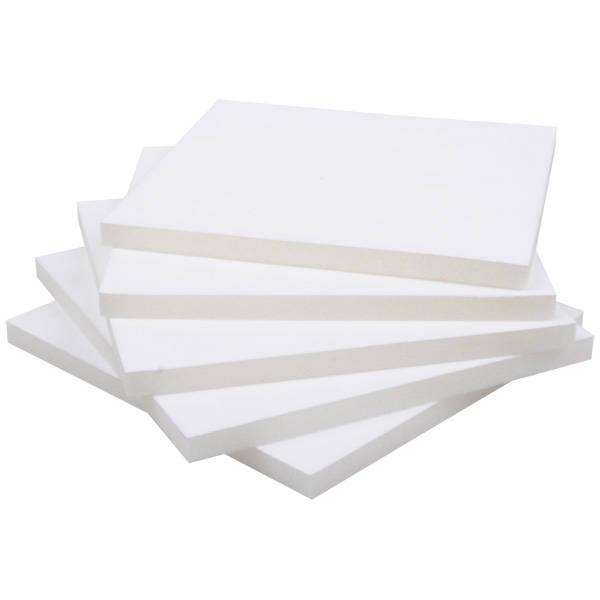 Grootverpakking: Foam insert voor collierdoosje Wit 163 x 163 x 25 0 027 014 / 0 018 014
