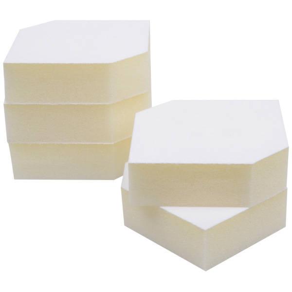 Grootverpakking: Foam insert voor horlogedoosje Wit 85 x 85 x 25 0 027 071 / 0 018 071