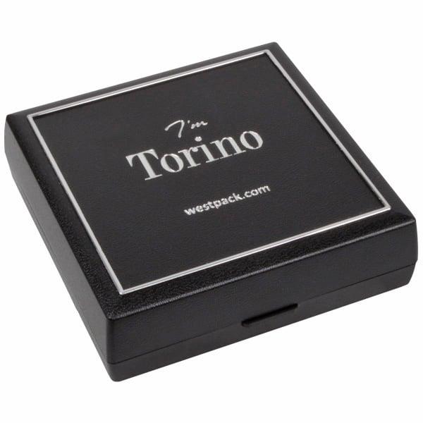 Achat en gros: Torino écrin bracelet/ pendentif Plastique noir, liseré argenté / Mousse noire 84 x 84 x 25