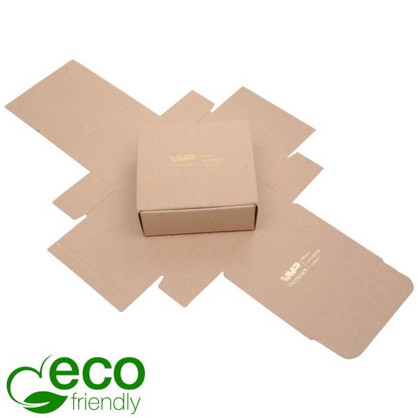 Plano 1000 ECO Boîte cadeau pour petit pendentif Carton naturel 80 x 80 x 30