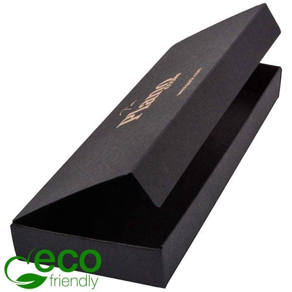Plano 1000 ECO vouwbaar cadeaudoosje grotee lepels Mat zwart FSC®-gecertificeerd karton 230 x 85 x 25