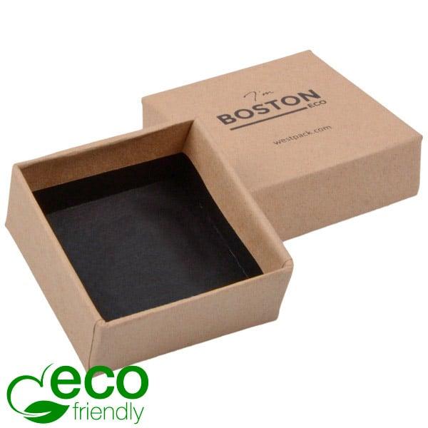 Boston ECO - Ecrin grand pendentif/ bracelet Carton natur/Sans intérieur 50 x 50 x 22