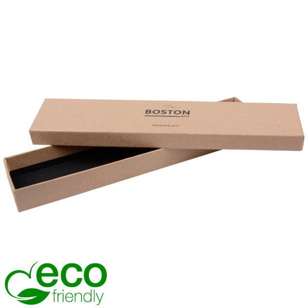 Boston Eco - Ecrin bracelet long Carton natur/Sans intérieur 225 x 50 x 22