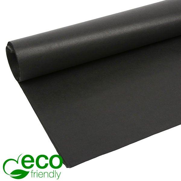 Milieuvriendelijk Zijdevloeipapier, 480 vellen Zwart 700 x 500 17 gsm