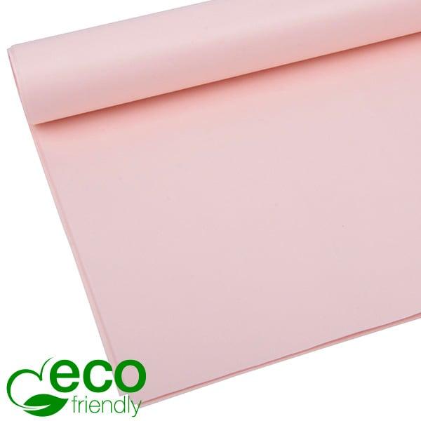 Milieuvriendelijk Zijdevloeipapier, 480 vellen Lichtroze 700 x 500 17 gsm