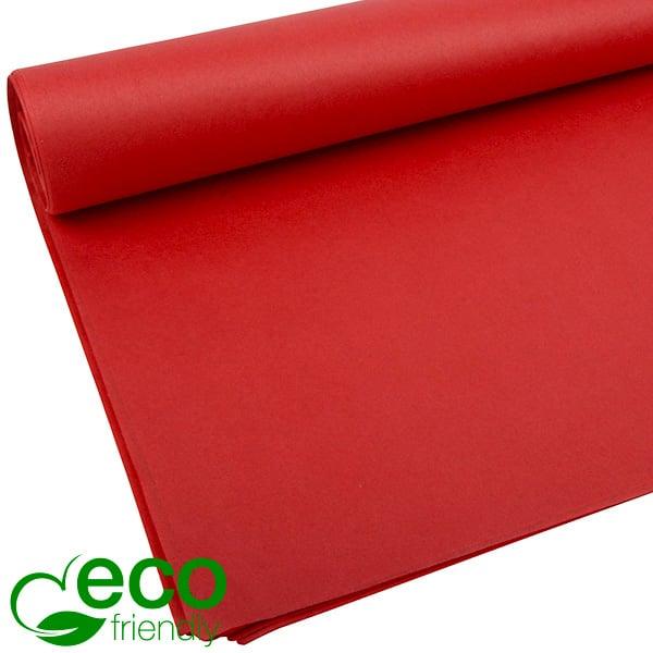 Milieuvriendelijk Zijdevloeipapier, 480 vellen Rood 700 x 500 17 gsm