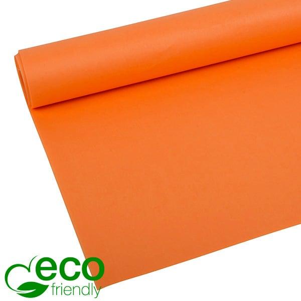 Milieuvriendelijk Zijdevloeipapier, 480 vellen Oranje 700 x 500 17 gsm