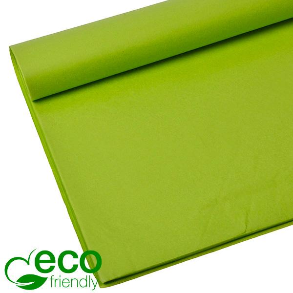Milieuvriendelijk Zijdevloeipapier, 480 vellen Lime 700 x 500 17 gsm