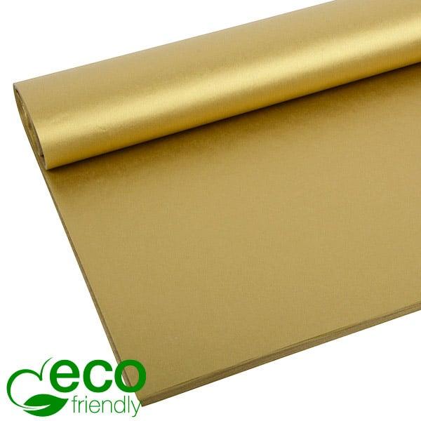 Milieuvriendelijk Zijdevloeipapier, 240 vellen Goud 700 x 500 17 gsm