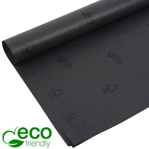Papier de soie x 480 feuilles Noir avec la marque FSC®, la marque ECO Westpack 700 x 500 17 gsm