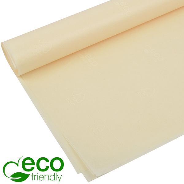 Milieuvriendelijk Zijdevloeipapier, 480 vellen Creme met FSC®-keurmerk en Westpack's ECO-merk  700 x 500 17 gsm