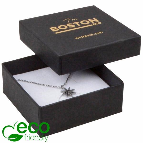 Achat en gros: Boston Eco écrin pour BO/ pendentif Carton noir/ Intérieur mousse blanche 65 x 65 x 25