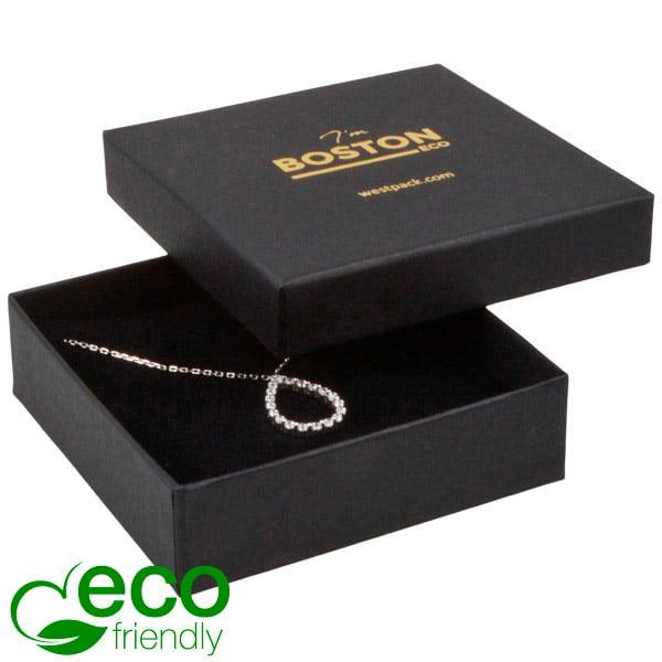 Achat en gros: Boston Eco écrin bracelet/pendentif Carton noir / Intérieur mousse noire 86 x 86 x 26