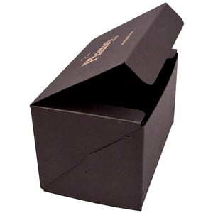 Plano 1000 Large Flat-packed Gift Box, 160 mm Matt black cardboard 160 x 100 x 95