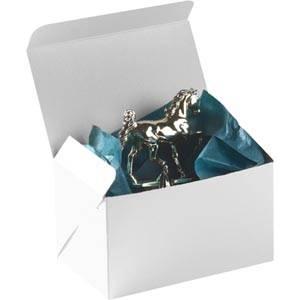 Plano 1000 gaveæske til bæger / pokal, lille Semi-blank hvid karton 160 x 100 x 95
