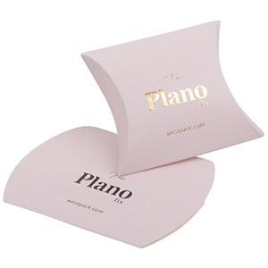 Plano Fix Flat-packed Pillow Gift Box, extra small Matt Rose Cardboard 42 x 55 x 19