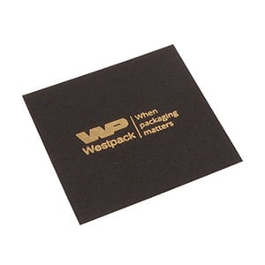 Lid Pad for Logo Print, Pendant Box Matt Black Cardboard 63 x 63 0 018 004 / 0 027 004