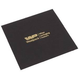 Lid Pad for Logo Print, Watch/Bangle Box Matt Black Cardboard 88 x 88 0 018 071 / 0 027 071