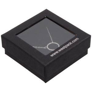 Boston Open opakowania na komplety, małe Czarny karton/ czarna gąbka  65 x 65 x 25