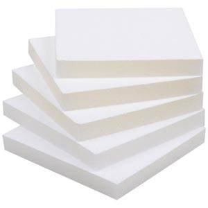 Skumindsats til armringsæske Hvid 81 x 81 x 10 0 027 006 / 0 018 006