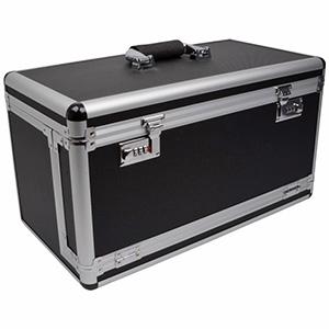 Koffer voor lichtgewicht tableaus, laag Zwart / Aluminium - Excl. tableaus 500 x 260 x 280