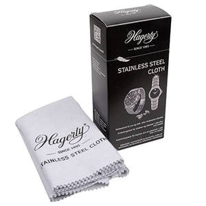 Hagerty Stainless Steel Cloth Poetsdoek voor sieraden en horloges in RVS 300 x 360