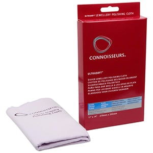 Connoisseurs Silver Jewellery Cloth Polishing cloth, double with/withour impregnation 350 x 275
