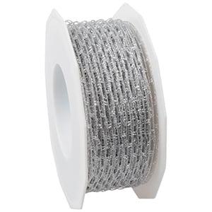 Net ribbon Silver  40 mm x 25 m