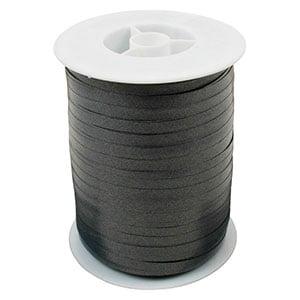 Plain ribbon, narrow Dark grey  5 mm x 500 m