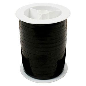 Bolduc ruban starmétal brillant, étroite Noir  5 mm x 250 m