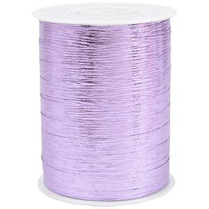 Bolduc ruban starmétal brillant, avec texture Violet mauve  10 mm x 250 m