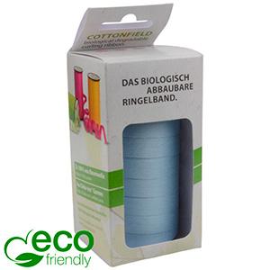Plain ECO lint, breed Lichtblauw  10 mm x 50 m