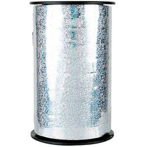 Hologram lint, breed Zilver  10 mm x 100 m